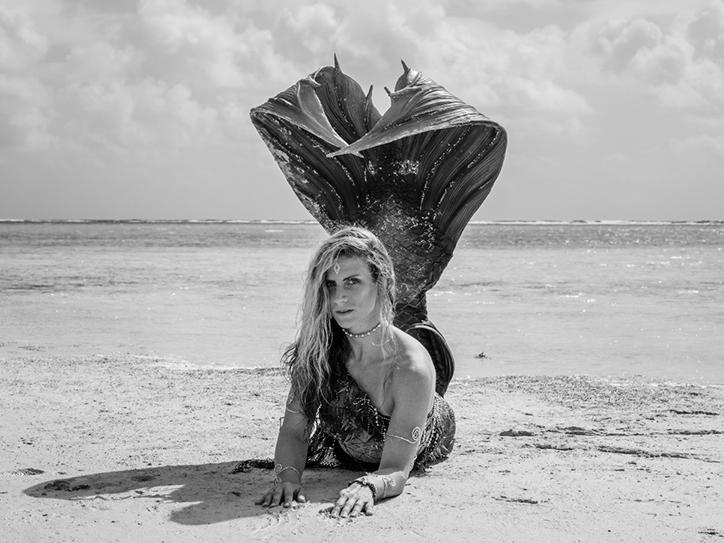 Bea Müller Apnea-College Mermaiding