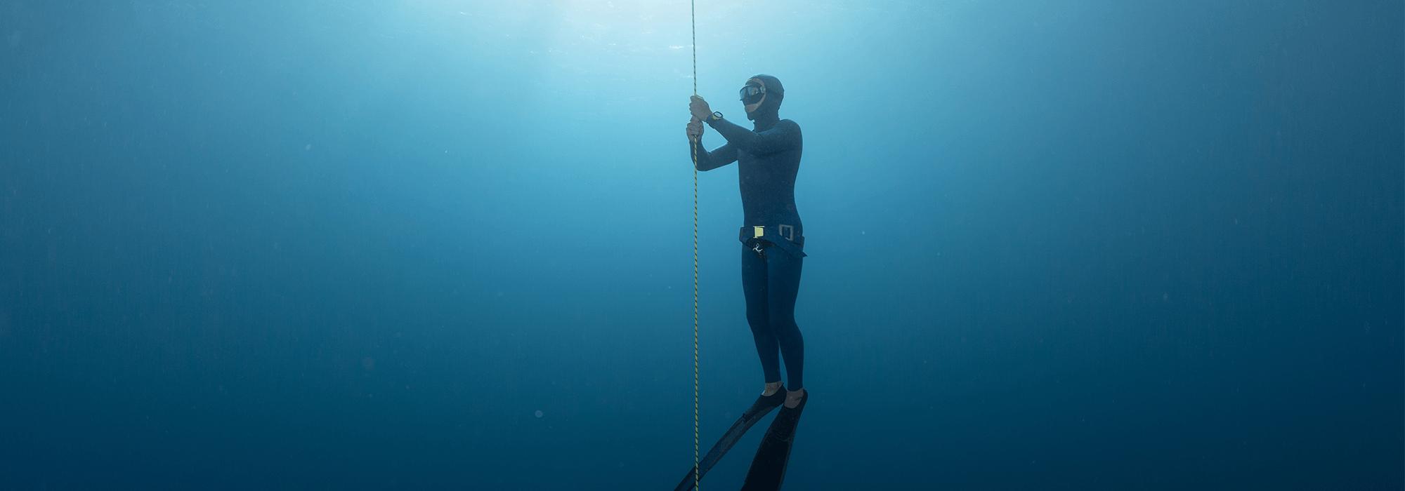 Never Dive Alone