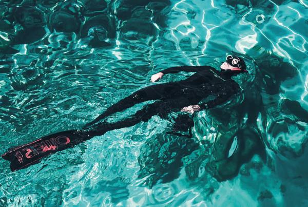 Schwimmkappen für das Apnoetauchen 2